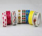 Patrón cliente cinta impresa de papel japonés
