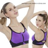 Qualité en gros séchant rapidement l'usure de forme physique de soutien-gorge de yoga de sport