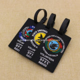 Government를 위한 Quality 높은 Custom Soft PVC Luggage Tags