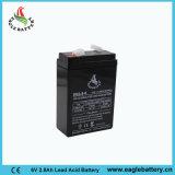 6V 2.8ah nachladbare AGM gedichtete Leitungskabel-Säure-Batterie