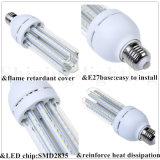 Energiesparende heiße Birnen-des Licht-E27 LED Decken-Birne der Form-SMD2835 Mais-Lampen-des Großverkauf-24W 4u