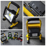 세륨을%s 가진 Outdoor, RoHS를 위한 10W-50W COB/SMD Waterproof &Portable& Rechargeable LED Emergency Flood Light/LED Working Light