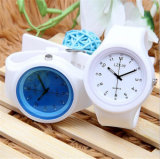 Wristwatch кварца силикона вахты студня квадрата высокого качества Yxl-990
