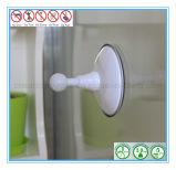 Los accesorios del cuarto de baño escogen la percha de ropa con la taza de la succión del vacío del aire