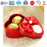 Chocolate Packaging를 위한 주문 Heart Shaped Metal Food Container