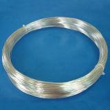 Fio de prata fino elétrico para os rebites e os pontos de contato do contato