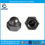 DIN1587 Carbon Steel/Stainless Steel Hex Cap Nut pour Fasteners