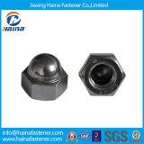 Fasteners를 위한 DIN1587 Carbon Steel Steel Hex Cap Nut