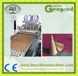 Máquina de rellenar caliente del cono de helado de la venta