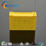 Condensator X2 105k/275V P=22.5 E4 RoHS x2-MKP van de Veiligheid van het Polypropyleen van de doos de Type Gemetalliseerde