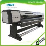 stampante solvibile capa di 2.5m 8feet uno Epson Dx7 Eco per la tela incatramata, la bandiera della flessione, la tela di canapa ed il panno della bandiera