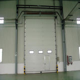 Дверь высокого качества/белых секционная гаража/промышленная дверь (HF-017)