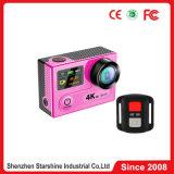 4k камера H8r действия DV с 2 экранами и 360 градусами