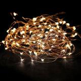 Luzes da corda do fio de cobre da decoração do casamento