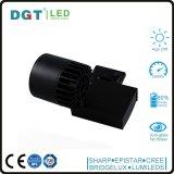 Lumière blanche/noire de piste de l'ÉPI DEL du boîtier 30W Dimmable 3 ans de garantie Tracklight