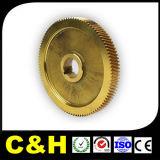 Части CNC Lathe латунной медной бронзы поворачивая подвергая механической обработке для машины