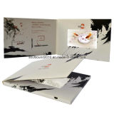5inch Video Greeting Card Video Booklet с Customized Printing (ID5001)
