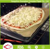 Papel de pergaminho Non-Stick seguro do forno revestido do silicone para a padaria