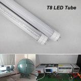 Tubo de la alta calidad 18W T8 LED, luz del tubo del alto brillo el 120cm T8 LED