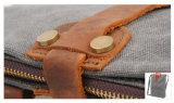 Малый мешок Tote покупкы кожи холстины для повелительницы RS-6833