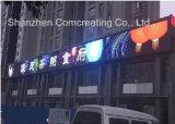 Painel de parede video ao ar livre do diodo emissor de luz da cor cheia do caminhão impermeável de P16mm