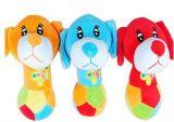 Brinquedo animal do cão do luxuoso do cão adorável e afortunado