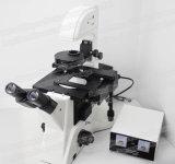 Microscopio invertido de FM-412 Trinocular para biológico
