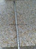 Mattonelle del bordo di Bushhammer del granito dell'oro di tramonto G682 per il lastricatore della piscina