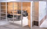 Moderne preiswerte Glassperren-niedrige verwendete Büro-Raum-Teiler (SZ-WS595)