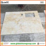 Partes superiores de tabela naturais do computador para o melhoramento Home de pedra de mármore