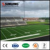 China-Großhandels-PET natürlicher Fußball-Gras-Rasen-Teppich für Fußballplätze