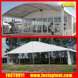 Сдобренный шатер промышленного венчания шатра стеклянный для случая с Celining и задрапировывает