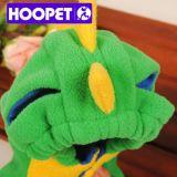 Chandail d'équipement de chien de costume de dinosaur vert petit