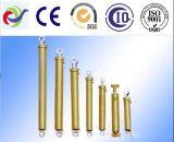 Cylindre hydraulique d'ingénierie télescopique à plusieurs étages