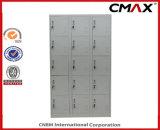 Armarios de acero Cmax-SL15-001 del cubo del guardarropa de la gimnasia del dormitorio del metal del armario del armario 15-Doors