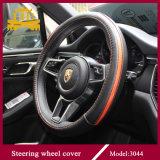 Cubierta brillante del volante del color para la mayoría del coche