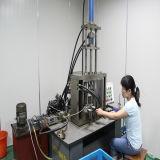 Auto fole vertical da exaustão que dá forma à máquina