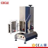 Torcedura del tipo máquina que capsula del vapor de la botella de cristal del casquillo del vacío
