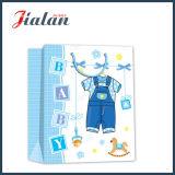 선물 포장 아기 옷 종이 봉지가 귀여운 디자인 관례에 의하여 농담을 한다