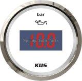Самое лучшее давление масла Gauge Meter 0-10bar Sale 52mm Digital