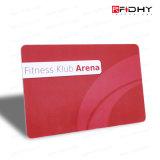 Carte en plastique de l'adhésion VIP/carte de cadeau/carte d'IDENTIFICATION RF numéro de code barres