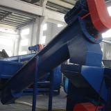 Riga di riciclaggio di plastica residua linea di produzione di lavaggio della pellicola del PE (300kg/h)