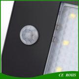 20 LED PIR sensor de movimento ao ar livre Dim Light impermeável LED Solar Garden Light lâmpada montada na parede
