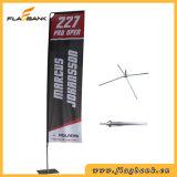Bandeira portátil do vôo da impressão de Digitas da fibra de vidro da promoção do evento/bandeira retangular