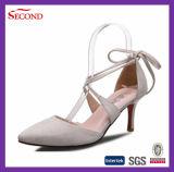 Chaussures chaudes de vente de femmes en cuir de Faux