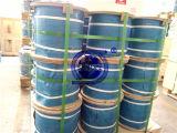 De Kabel van de Draad van het roestvrij staal 7X19-1.25, 1.5, 3, 4, 5, 6, 8mm