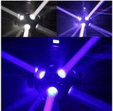 Luz principal movente do efeito do diodo emissor de luz da potência 12PCS para o estágio