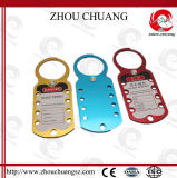 Grosses Safety Aluminum Hasp Used für 9 Workers Ein Zeit Coated All Colors