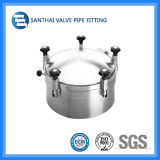 Stainless sanitario Steel Ss304 Manhole materiale Cover
