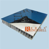 Color cremoso Aluminum Honeycomb Panel per Aviation